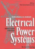 Electrical Power Systems: Design and Analysis (IEEE Press Series on Power Engineering)