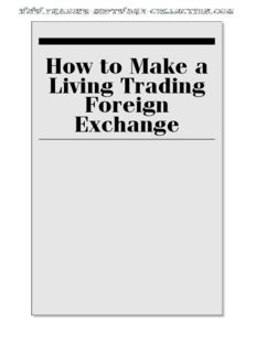 Courtney Smith - How to Make a Living Trading Foreign Exchange.pdf
