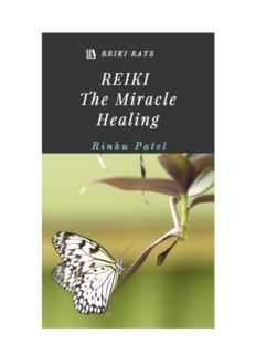 Reiki: The Miracle Healing 2015