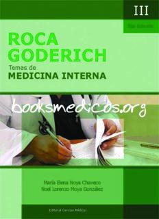 Roca Goderich Temas de Medicina Interna 5a Edicion VOL III