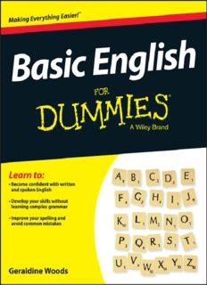 Basic English Grammar For Dummies - US (For Dummies