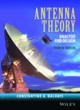 Antenna Theory: Analysis and Design