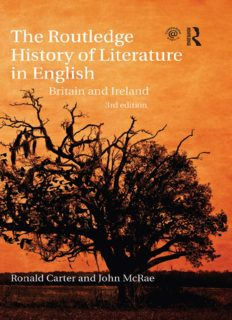 The Routledge history of literature in English : Britain and Ireland