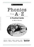 Phonics A to Z