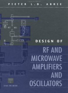 Design of RF and Microwave Amplifiers and Oscillators.pdf