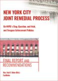 New York City Stop & Frisk Joint Remedial Process Leadership Discussion Themes