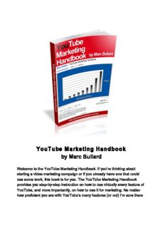 YouTube Marketing Handbook by Marc Bullard