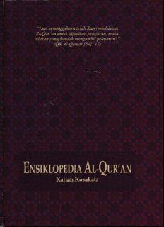 ENSIKLOPEDI AL-QURAN K-N