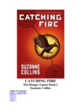 CATCHING FIRE - SchoolNotes