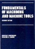 Fundamentals of Machining and Machine Tools by Boothryd