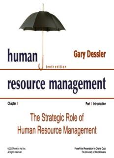 Human Resource Management 10e.- Gary Dessler