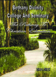 Bethany's 2014-2015 Catalogue - Bethany Divinity College and