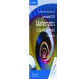 Cambridge IGCSE® Mathematics