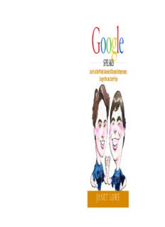 Secrets of the World's Greatest Billionaire Entrepreneurs, Sergey Brin and Larry Page