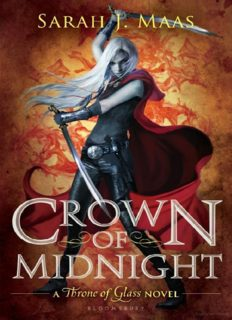 Crown of Midnight (Throne of Glass) Hardcover