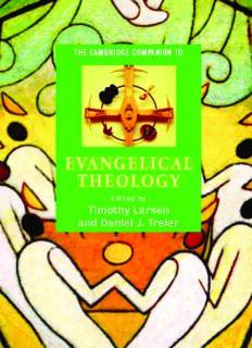 The Cambridge Companion to Evangelical Theology (Cambridge Companions to Religion)