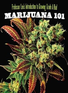 Marijuana 101 Lee, Professor.pdf