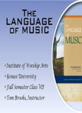 The Language of Music - Tom Brooks Music