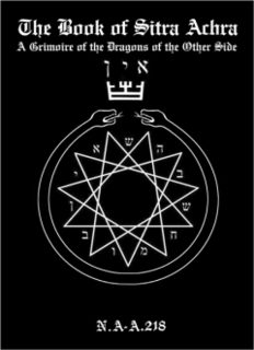 The Book of Sitra Achra - A Grimoire of the Dragons of the Other Side