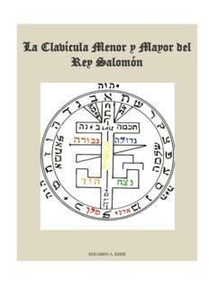 La Clavícula Menor y Mayor del Rey Salomón
