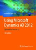 Using Microsoft Dynamics AX 2012: Updated for Version R3