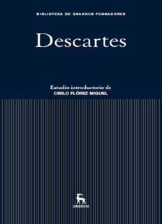 René Descartes [Gredos]