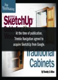 Fine Woodworking's Google SketchUp® Guide for Woodworkers  Traditional Cabinets