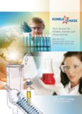 To the Kimble Chase 2008 / 2009 catalog! Your Source for Kimble, Kontes and Chase Brands