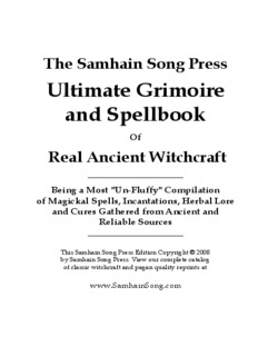 Ultimate Grimoire and Spellbook