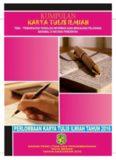 Kumpulan Karya Tulis Ilmiah Pada Lomba Karya Tulis Ilmiah Tahun 2016 Tema