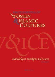 Encyclopedia of Women & Islamic Cultures, Vol. 1: Methodologies, Paradigms and Sources (Encyclopaedia of Women and Islamic Cultures)