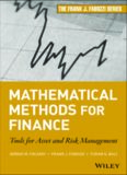Mathematical methods for finance : tools for asset and risk management