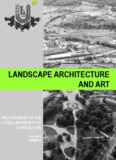 Landscape Architecture And Art