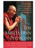 The Mind's Own Physician: A Scientific Dialogue with the Dalai Lama on the Healing Power