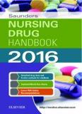 Saunders Nursing Drug Handbook 2016