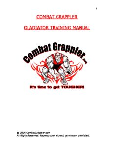 Gladiator Training Manual
