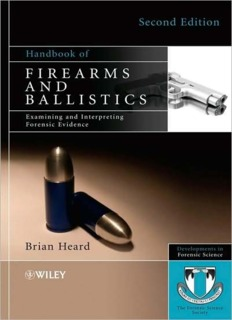 Firearms and Ballistics