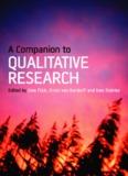 A Companion to QUALITATIVE RESEARCH