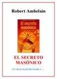 El Secreto Masónico - Robert Ambelain - Libro Esoterico