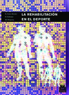 La rehabilitacion en el deporte