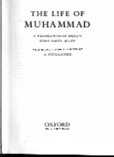 The Life of Muhammad: A Translation of Sirat Rasul Allah by Ibn Ishaq