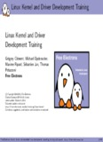 Linux Kernel and Driver Development Training Linux Kernel and