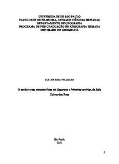 O sertão e suas metamorfoses em Sagarana e Primeiras estórias, de João Guimarães Rosa