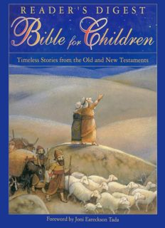 Reader's Digest Bible For Children: Timeless Stories From The Old And New Testament
