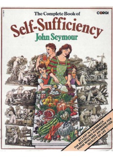 The Complete Book of Self-Sufficiency by John Seymour
