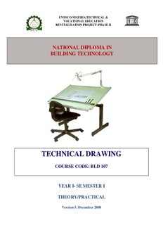 TECHNICAL DRAWING - Unesco-Nigeria TVE