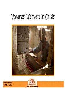 Varanasi Weavers in Crisis - Floating Sun