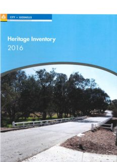 2016 City of Gosnells Heritage Inventory FINAL