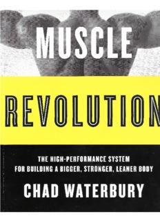 chad waterbury muscle revolution
