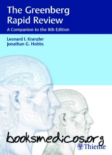 The Greenberg Rapid Review: A Companion to the 8th Edition